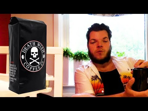 TRYING THE DEATHWISH COFFEE REVIEW