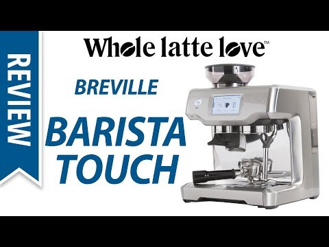 Review: Breville Barista Touch Espresso Machine