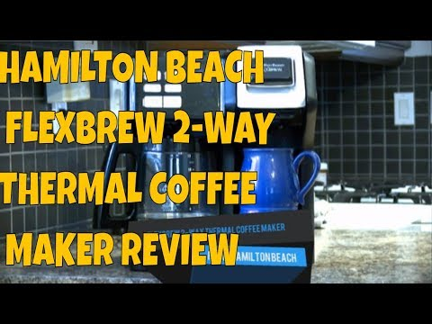 Hamilton Beach 2 Way FlexBrew Coffee Maker Review