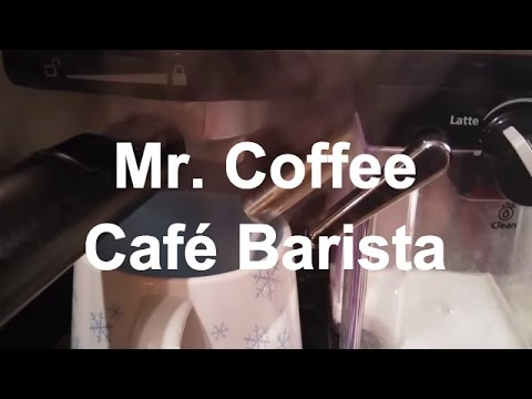 Mr Coffee Cafe Barista Review | Home Espresso Machine
