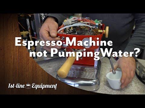 Espresso Machine NOT Pumping Water?