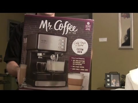 Mr. Coffee Cafe Barista Unboxing – Semi Automatic Espresso Machine