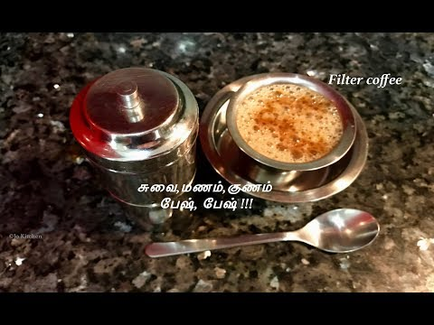 Filter Coffee recipe(coffee maker)| How to make filter coffee Tamil |South Indian coffee |Jo Kitchen