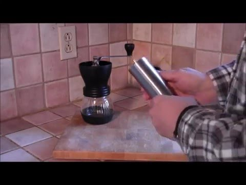 Review of the JavaPresse manual coffee grinder.