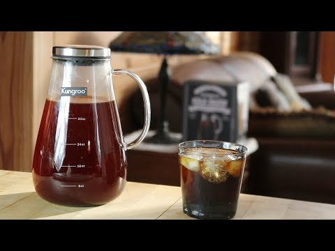 Unboxing Kungroo Cold Brewer Coffee Maker – Make Healthier Coffee! – Product Reviews 2019