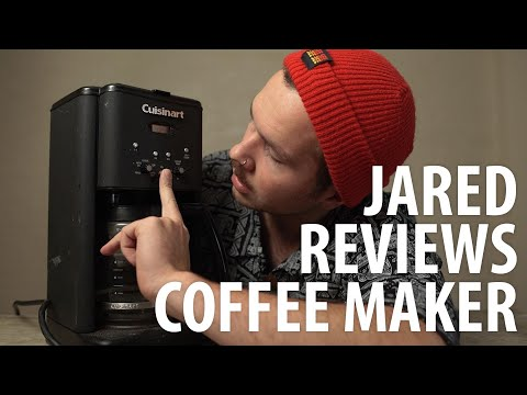 Jared Reviews: Black Cuisinart Coffee Maker