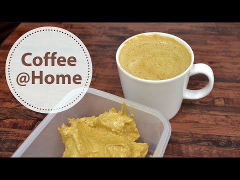 Hot Coffee Recipe बिना मशीन के झाग वाली कॉफ़ी बनाने का आसान तरीका Coffee at Home Only 3 Ingredients