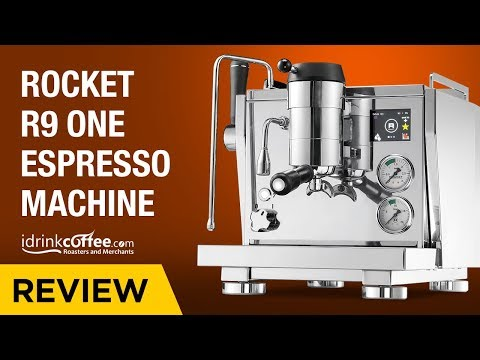 iDrinkCoffee.com Review – Rocket R Nine One (R9) Espresso Machine