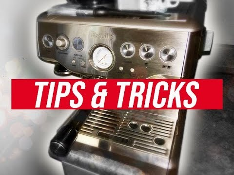 Breville Barista Express – TIPS, TRICKS, AND BASIC LATTE ART