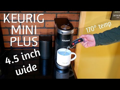 KEURIG K MINI PLUS Compact K CUP single serve Coffee Maker review