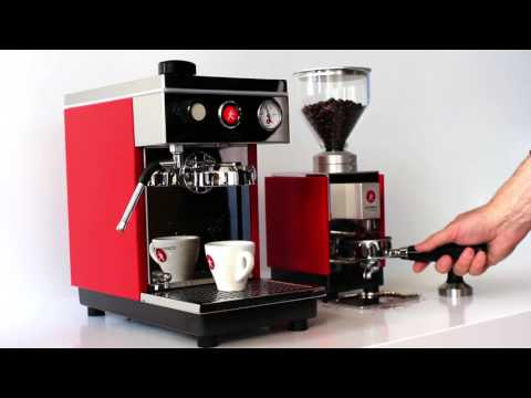 Olympia Express Maximatic Espresso Machine and Moca Grinder