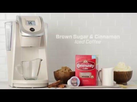 Brown Sugar Cinnamon Iced Coffee Recipe