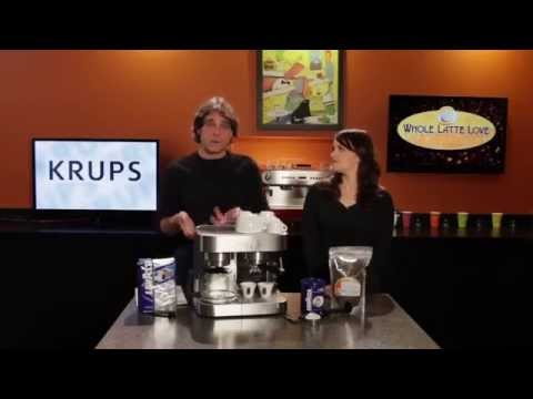 Coffee Maker Review | KRUPS XP160050 Coffee Maker and Espresso Machine Combination