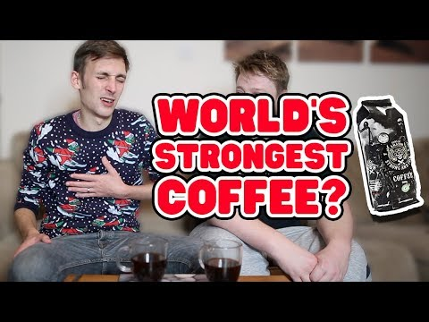 Is This The World's Strongest Coffee? (Sons of Amazon Coffee Review) | WheresMyChallenge