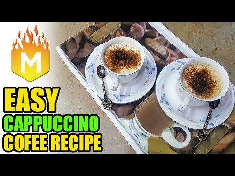 CAPPUCCINO COFFEE RECIPE BY MANO KA KITCHEN
