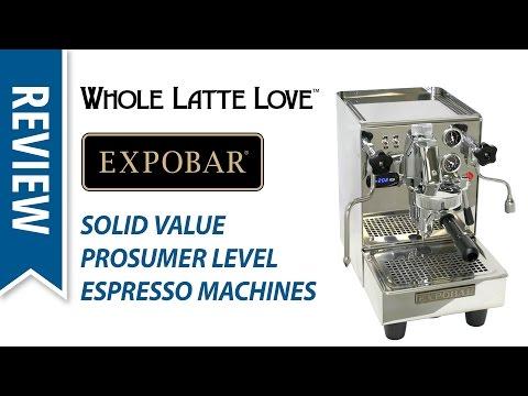 Review of Expobar Espresso Machines