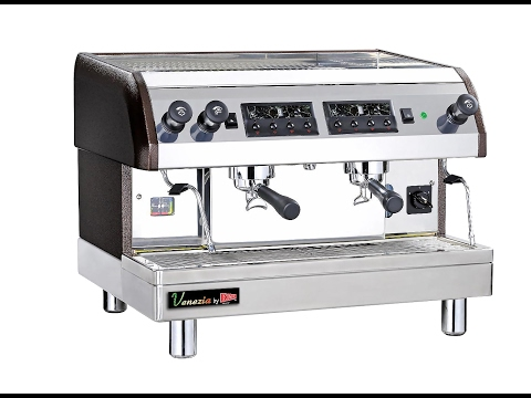 Venezia Espresso Machines Basic Operation