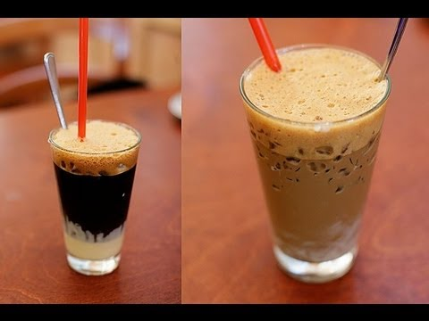 How to make Vietnamese coffee – Ca phe sua da