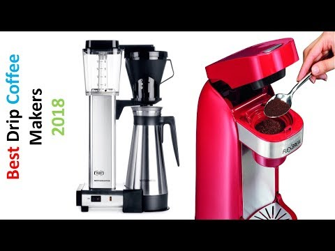 Review: Top 5 Drip Coffee Makers 2018 | Best Automatic Drip Coffee Makers