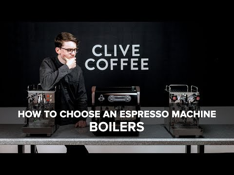 How To Choose An Espresso Machine: Boilers
