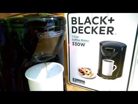 TUTORIAL BLACK+ DECKER COFFEE MAKER