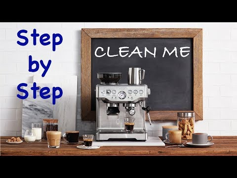 Breville Clean Me – Step by Step Instructions