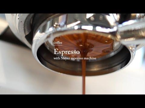 Coffee / Espresso. with Slayer espresso machine