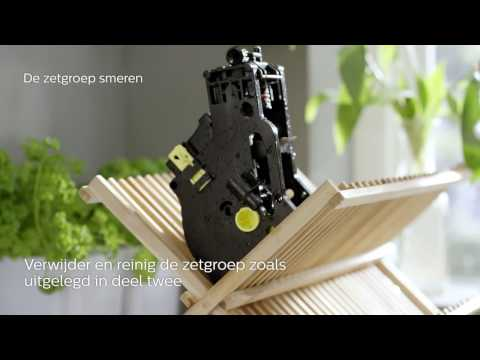 Philips 3000 serie espressomachine – Reiniging en onderhoud
