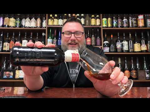 Massive Beer Review 1986 AB InBev/Budweiser/Goose Island Bourbon County Coffee Barleywine Ale 2018