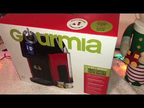 Gourmia's K-Cup & Espresso Machine Unboxing – Day 20