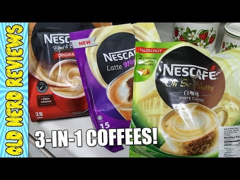 3 FLAVORS, ONE CONVENIENT COFFEE! | Nescafe 3-In-1 Instant Coffee REVIEW ☕