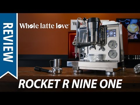 Review: Rocket Espresso R Nine One Pressure Profiling Espresso Machine