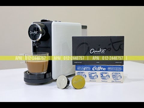 Pengenalan dan demo Arissto Coffee Machine