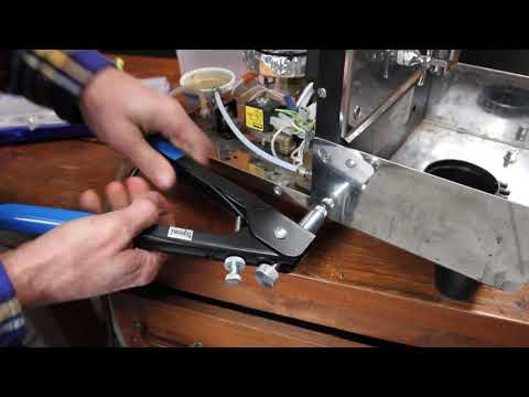 How to Install an M5 Rivet in Expobar Espresso Machine