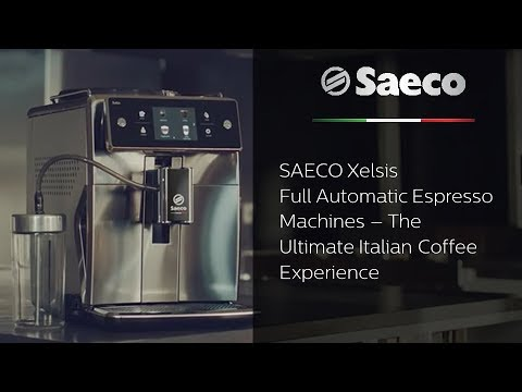 Saeco Xelsis – Full Automatic Espresso Machines – The Ultimate Italian Coffee Experience