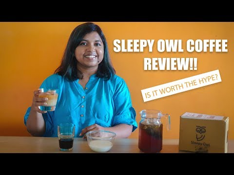 ONE OF THE BEST COFFEES IN INDIA? | SLEEPY OWL COFFEE | REVIEW