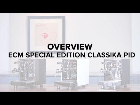 ECM Special Edition Classika PID Espresso Machine Review