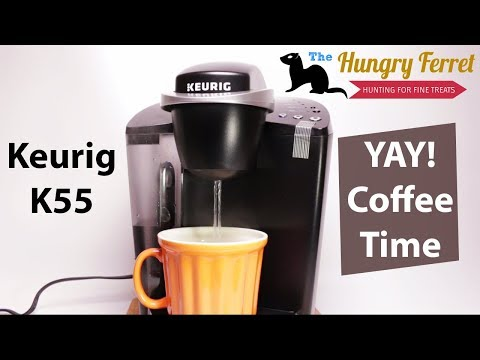 Keurig K55 Unboxing and Demo with My K cup