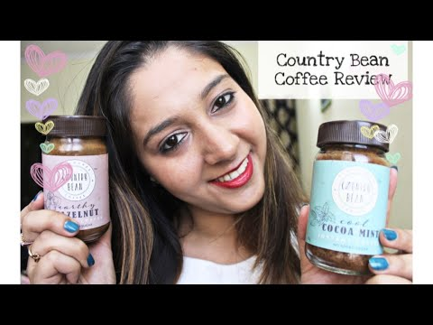 COUNTRY BEAN COFFEE REVIEW|HAZELNUT COFFEE AT HOME