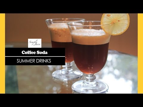 Coffee Soda | How To Make Coffee Soda Drink | Summer Drink Recipe | Simply Jain