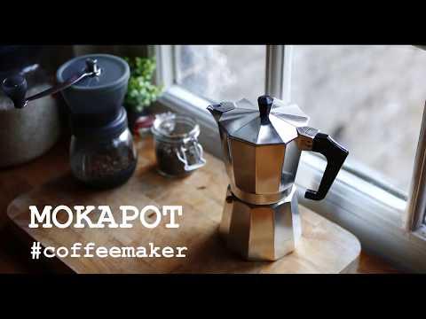MOKA POT COFFEE MAKER | ALat pembuat Kopi  ESPRESSO Manual [tutorial / review]