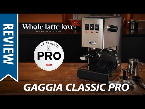 Review: Gaggia Classic Pro Espresso Machine