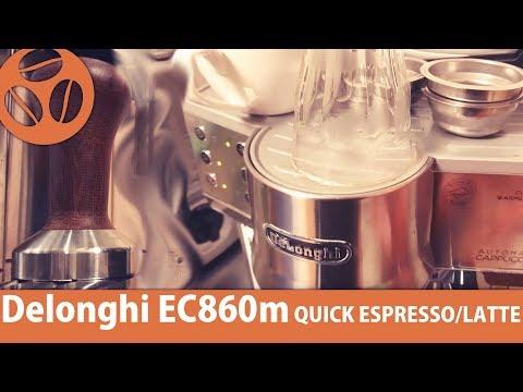 Delonghi EC860M | QUICKEST SEMI AUTO!! |TOKYO BARISTA REVIEW of ESPRESSO MACHINES