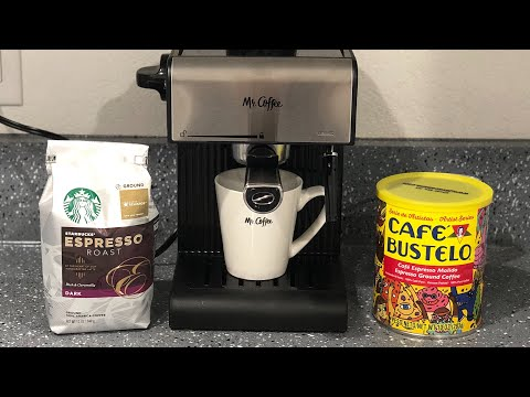 Mr. Coffee Espresso Machine unboxing / Review / WW Recipe