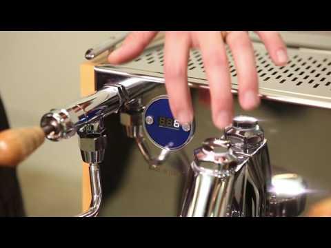 LUCCA M58 Espresso Machine Setup Guide