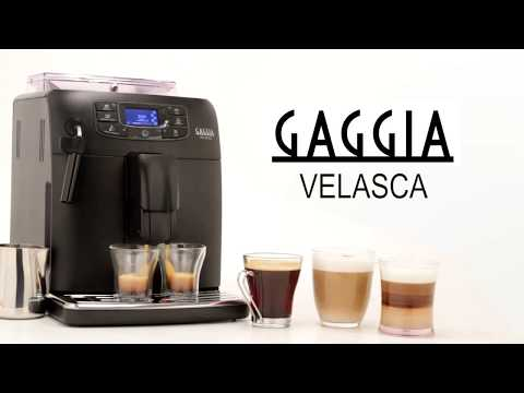Gaggia Velasca Super-Automatic Espresso Machine