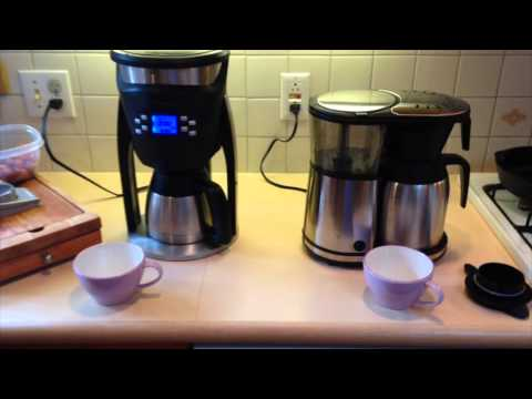 Coffeemaker Showdown 004: Brazen Plus vs. BV1900ts