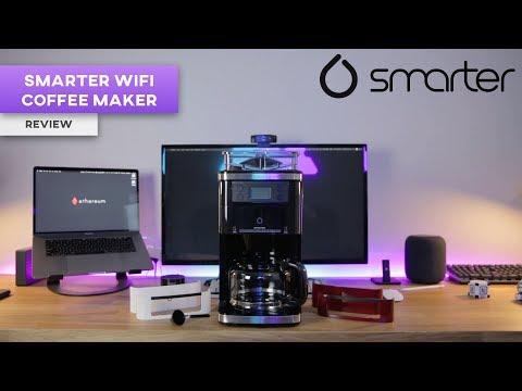 Robot Barista? Smarter WiFi Coffee Machine Review