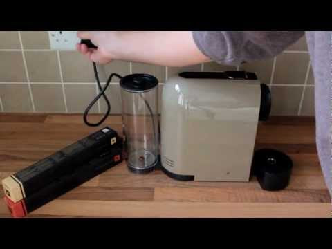 Demo: Krups Nespresso U coffee machine