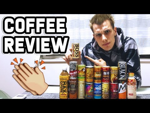 JAPANESE COFFEE REVIEW!